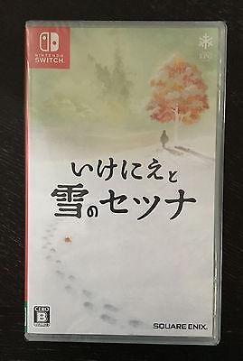 I am Setsuna of Snow IKENIE TO YUKI NO Japanese Version /w Eng Nintendo Switch