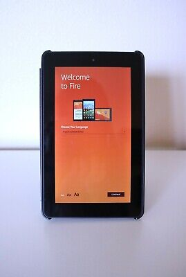 Amazon Fire HD 8 (5th Generation) 8GB, Wi-Fi, 8in - Black