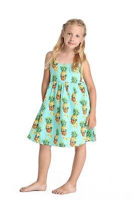 Hangover Halloween (Hawaii Hangover Girl Elastic Strap Dress Halloween Pineapple Skull)