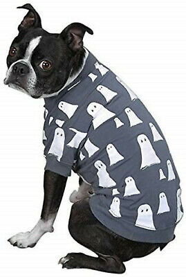 Zack & Zoey Glow-in-Dark Ghost Pet Dog T - Ghost Dog Kostüme