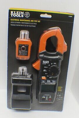Klein Tools Cl120kit Electrical Maintenance And Test Kit - New