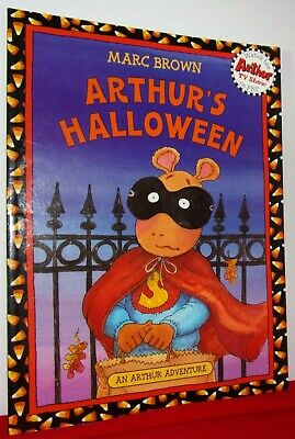 ARTHUR'S HALLOWEEN: 1983 PAPERBACK CHILDREN'S BOOK: FREE SHIPPING
