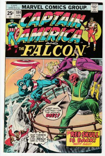 Captain America #184 April 1975 VF- 7.5 Marvel Comics