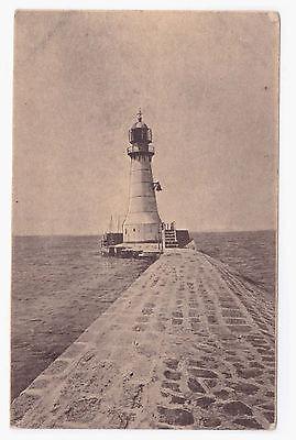 Ansichtskarte Leuchtturm vermutlich Pilau um 1918