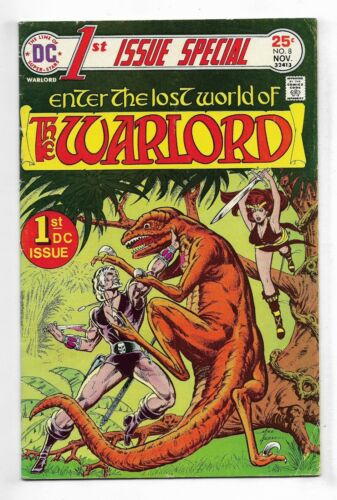 1st Issue Special 1975 #8 Very Good/Fine 1st Warlord