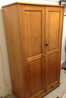 Solid timber wardrobe for sale St Leonards Willoughby Area Preview
