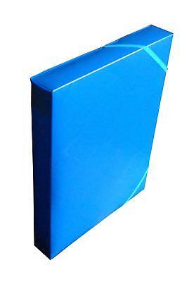 Heftbox / A4 / aus PP  / Farbe: blau