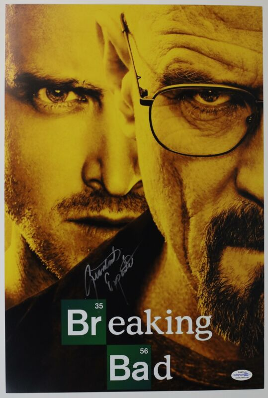 "Giancarlo Esposito ""Breaking Bad"" AUTOGRAPH Signed 'Gus Fring' 12x18 Photo ACOA"