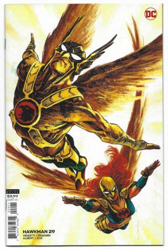 Hawkman #29 2020 Unread Sebastian Fiumara Variant DC Comic Book Robert Venditti