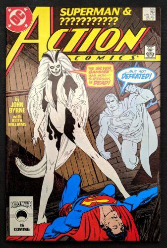 Action Comics #595 1st Silver Banshee DC 1987
