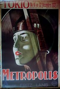 METROPOLIS-Licensed-Movie-POSTER-90cm-x60cm-Brand-New-Vintage-Old-Sci-Fi