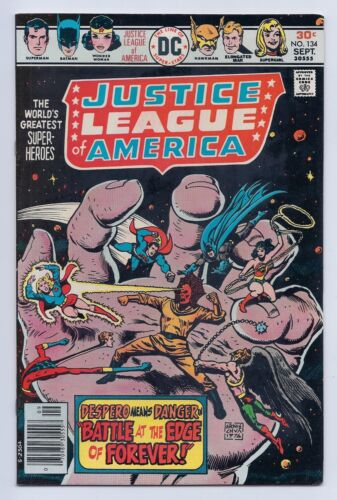 Justice League of America 134 VF+ 8.5 Bronze Age Despero