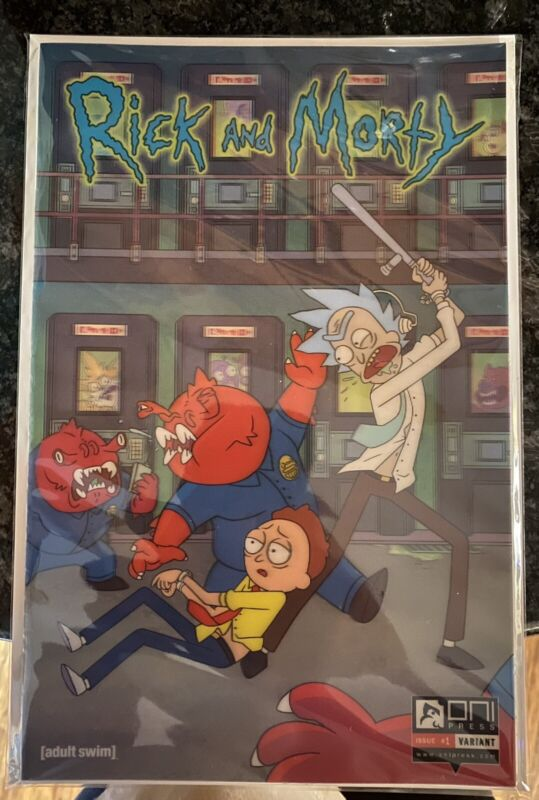 Rick and morty #1 🔥Lenticular Variant 🔥 Factory Sealed & Individually Numbered