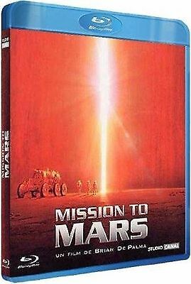 Mission To Mars  2000  Blu Ray    Tim Robbins  Gary Sinise   New   Sealed