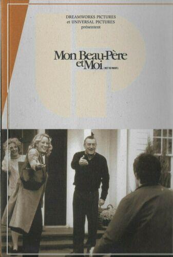 Robert De NIRO Ben STILLER French Pressbook MEET THE PARENTS