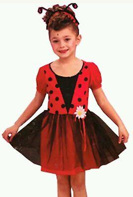 NEW LADYBUG DRESS UP OR HALLOWEEN COSTUME by GARDEN GIRL (Size 4-6)](Halloween Costume For Girl)