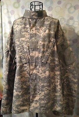 Combat Uniform ARMY coat, digital design.  Large/regular. camp paintball hunt