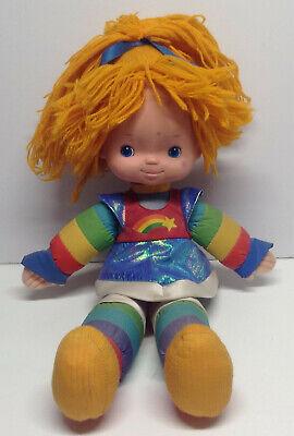 RARE Vintage 1983 Hallmark Cards Mattel Rainbow Brite Doll 19