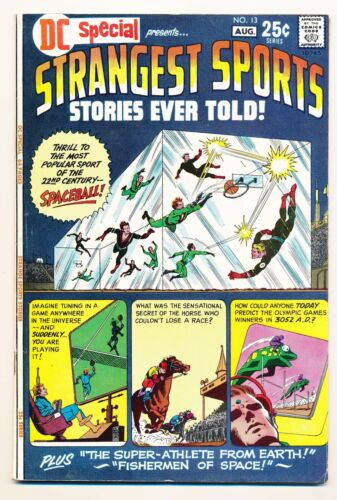 DC Special (1968) #13 VF Strangest Sports Stories Ever Told