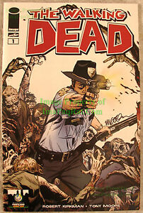 THE WALKING DEAD #1 2013 Portland Comic Con Variant Signed Michael ...