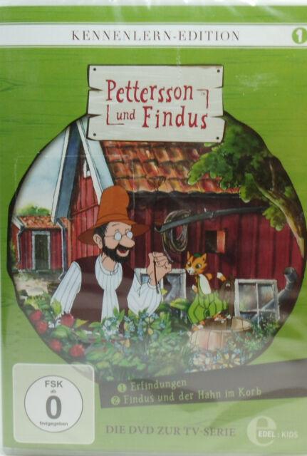 Pettersson und Findus Kennenlernen-Edition 1 Neu+inFolie 1xDvD