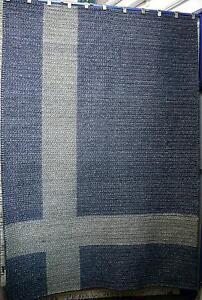 New Shaynna Blaze Impact Ink Artsilk Wool Cross Design Rugs Melbourne CBD Melbourne City Preview
