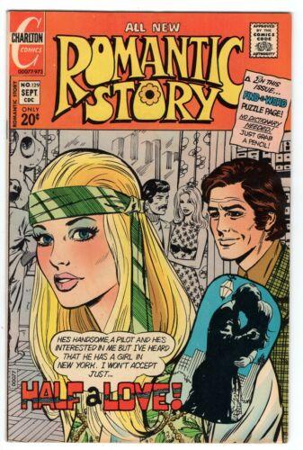 ROMANTIC STORY #129 CHARLTON COMICS ROMANCE 1973 FN/VF
