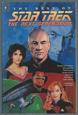 The Best Of Star Trek: The Next Generation Titan Books Graphic Novel 1994 (Best Star Trek Next Generation Novels)