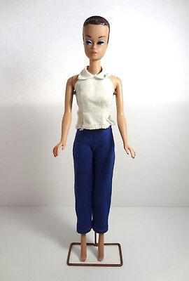 Barbie MIDGE Vintage Doll Fashion Queen Brunette Hair Blue Eyes Japan 1960s
