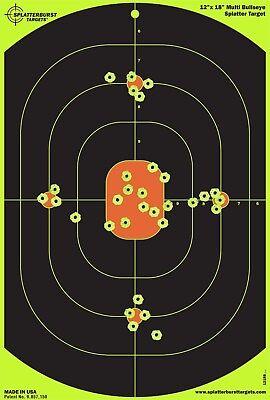 5//10X Splatterburst Targets Adhesive Targets Stickers Huntings^Shootings 14*  Hx