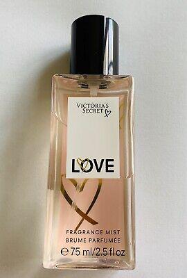 VICTORIA'S SECRET LOVE TRAVEL MIST. 2.5oz/75 ml. New!