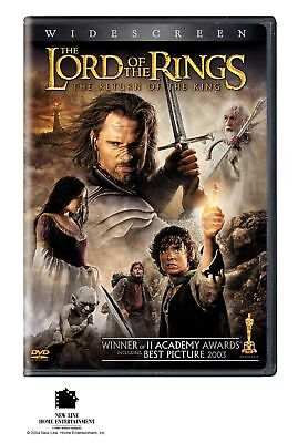 The Lord of the Rings: The Return of the King (DVD, 2004, 2-Disc, Widescreen)NEW](Homecoming King)