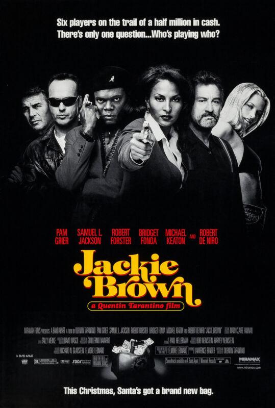 JACKIE BROWN (1997) ORIGINAL MOVIE POSTER  -   ROLLED