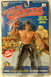 (GBS-B17) - WWF Wrestling SuperStars LJN Figure - Ricky