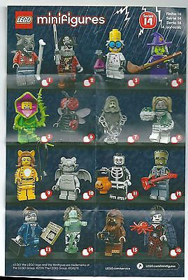 Lego 71010 Minifiguren, Serie 14, Tiger Girl, Monster, geschl. Tüte