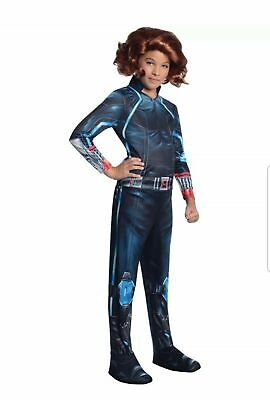 New Marvel Avengers Black Widow Child Costume Medium 5-7