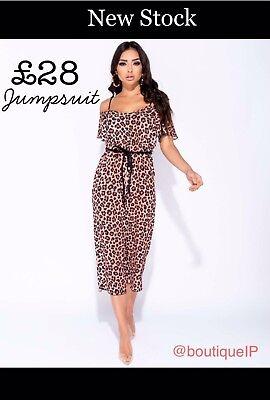 Leopard Print Culotte Jumpsuit 8