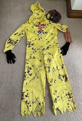Hazmat Hazard Kids Costume, Size 12