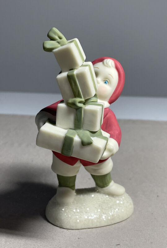 """VTG Retired Dept. 56 Simple Traditions Holly Lane """"So Much To Give """" Figurine"""