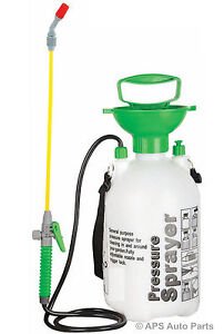 Pressure Sprayer 5 Litre Capacity Spray Water Spraying Pump Nozzle Mist New