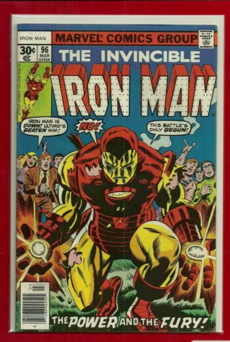 INVINCIBLE IRON MAN # 96 BRONZE Age 1st NEW GUARDSMAN NICE FINE