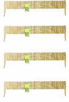4 X Bamboo Pole Hurdles By Gardman - Garden Border Lawn Edging - Lawn Edge - gardman - ebay.co.uk
