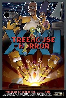 n Halloween Matt Groening Homer Marge Lisa Bart Serie 06 (Los Simpsons Halloween)