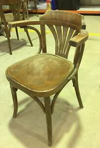 4 x Vintage Bistro Chairs Wolli Creek Rockdale Area Preview
