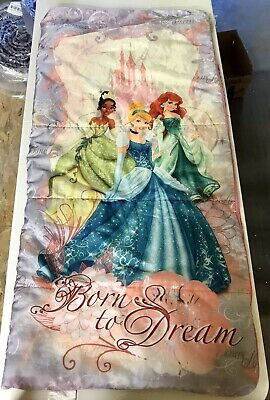 Ariel Sleeping Bag (Disney Princess Born to Dream Camping Sleeping Bag Cinderella Ariel)