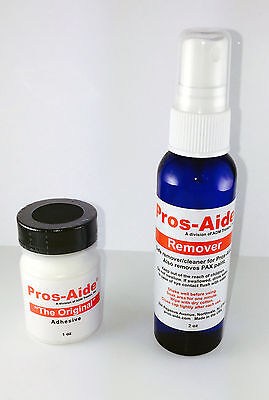 Special Effects Makeup (Professional Special Effects Makeup Artist Adhesive Pros-Aide 1 oz + Remover)