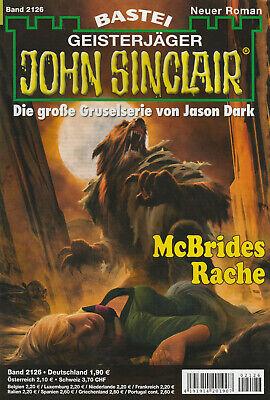 JOHN SINCLAIR Nr. 2126 - McBrides Rache - Rafael Marques - NEU