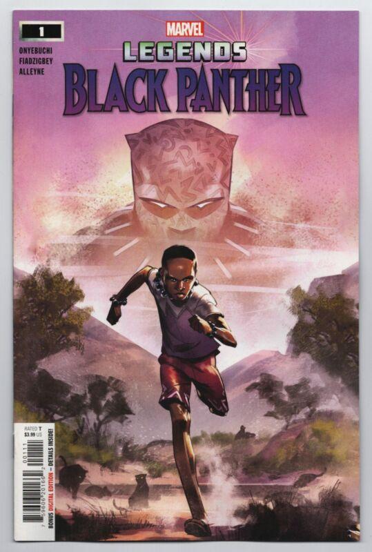 Black Panther Legends #1 Main Cvr A Setor Fiadzigbey (Marvel, 2021) NM