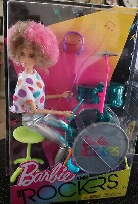 Barbie and the Rockers AA DRUMMER & SET. NRFB,2017. Please see photos. USPO .