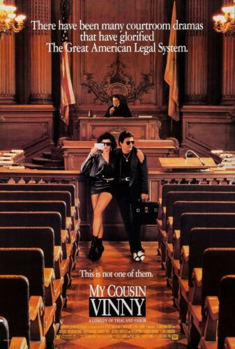 MY COUSIN VINNY (1992) ORIGINAL MOVIE POSTER  -  ROLLED